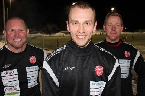 GJENFORENT: Pål Steffen Andresen gleder seg til å jobbe sammen med sin tidligere lagkamerat Kasey Wehrman og trener Espen Olsen i Strømmen.