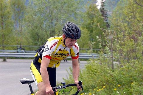 NUMMER TRE:  Tor Arne Bonsaksen fra Mosjøen imponerte med en tredjeplass søndag.