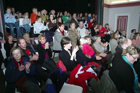 INTIMT: BMKs familiekonsert ble en intim forestilling som publikum satte stor pris på.