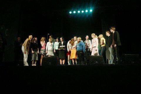 Festen i fjor. I 2005 ble den første filmfesten for ungdom arrangerte i Bodø, med 1200 deltakere. I år håper arrangørene at 2000 kommer innom. Foto: Bjørn Erik Olsen