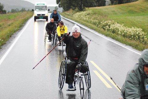 FÅR KJEFT: ? Det finnes utskudd som viser fingeren til oss. Noen kommer aldri fort nok fram i trafikken, sier Rolf Einar Pedersen. Han har ambisjon om EM-gull. Alt annet vil være en nedtur.