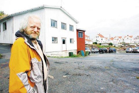 Erling Okkenhaug kritiserer planene som er laget for Flisvika.