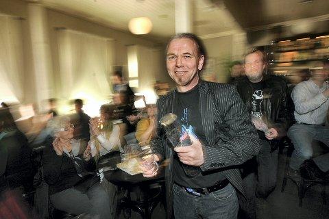 SJEFEN: Gøran Stensrud er leder for Skedsmo Bluesklubb.