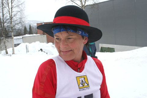 SUVEREN : Ingen tukter Elin Nilsen i Hattrennet.