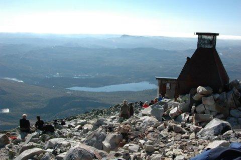 Det heter seg at du kan se en sjettedel av fastlands-Norge fra Gaustatoppen.