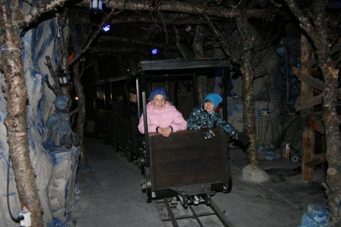 Åpning av Blånisselandet i Målselv, togbanen