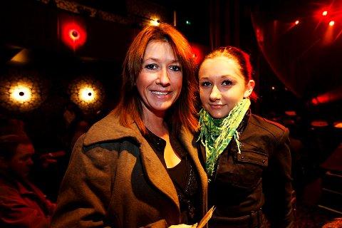 Marit Voldsæter var på forestillingen sammen med datteren Ingrid (14) (16.11.2008).