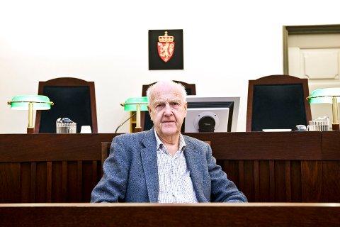 Rettspsykiater Kjell Noreik, fotografert i Bergen tingrett (05.01.2009).