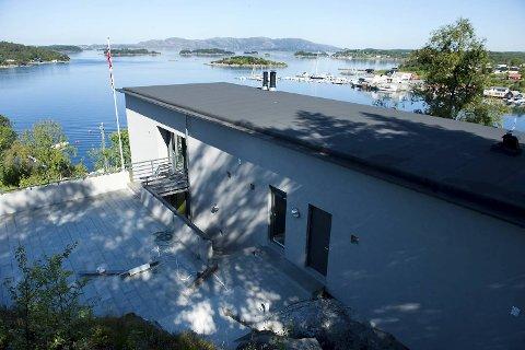 Fantastisk utsikt fra Herman Frieles nye villa til 17 millioner kroner.