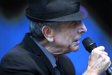 Leonard Cohen kommer til Fredriksten festning.