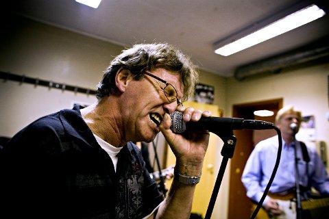 Rolf Erik Veland på øving med Allison like før comebacket for fem år siden.