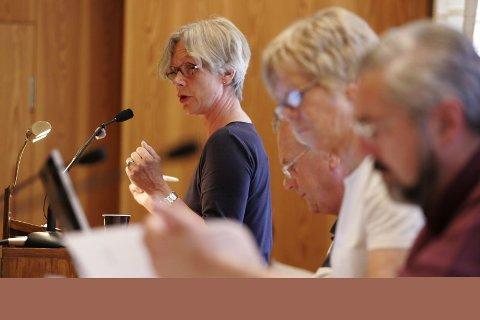 fungerende ordfører: Pernille Egeberg.foto: Jens haugen