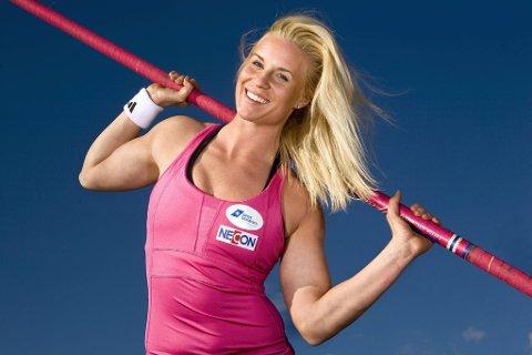 Cathrine Larssen er storforn¿yd med treningsfasilitetene p Brunstad.