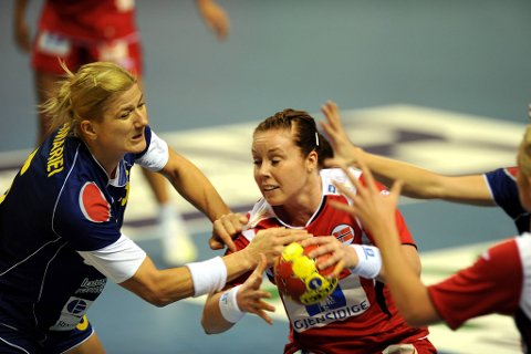 Karoline Dyhre Breivang var god mot Romania.