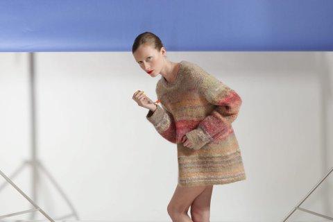 Fashion Utopia: En kolleksjon lagd av Nanna Heiberg i samarbeid med Ylva Holby, som en del av mastergraden. (Foto: Colin Eick)