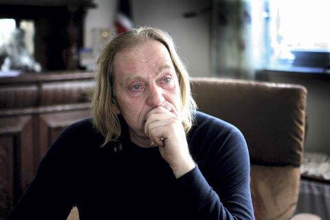 TØFT: Savnet av datteren er enormt, og det er tøft for Rune Johnsen å snakke om det som skjedde. FOTO: KAY STENSHJEMMET