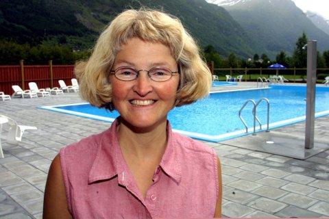 ? Veldig kjekt og overraskande, seier Kristin Sindre Bjørkelo som driv Byrkjelo camping saman med mannen Anders Bjørkelo. Arkivfoto.