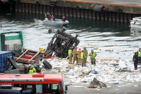 Den foreløpig rapporten er klar etter godstogulykken på Sjursøya i mars der tre menn mistet livet og fire ble skadd.