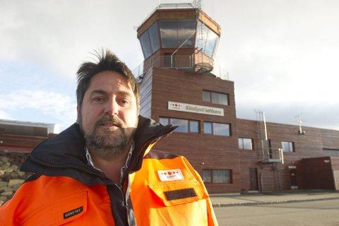 Arbeidsplassen til lufthavnsjef Inge Vidar Olsen kan bli fredet om få år. Avinor har nemlig foreslått at 11 år gamle Båtsfjord lufthavn er moden for freding.