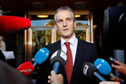 NEI: Jonas Gahr Støre vil ikke ha moskeer i Norge som er finansiert av Saudi-Arabia.