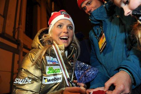 Den blide jenta fra Dalsbygda, Therese Johaug.