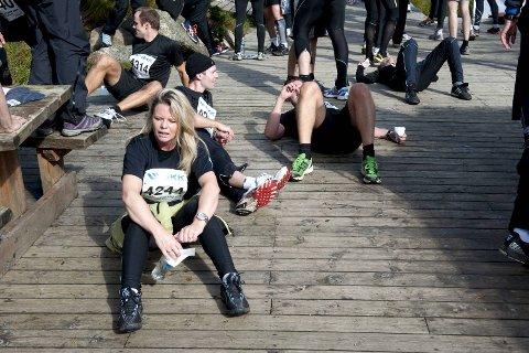 GLEMSK: - Jeg er vel med neste år også, da har jeg sikkert glemt hvor ille dette er, sier Ann Mari Øvreeide.