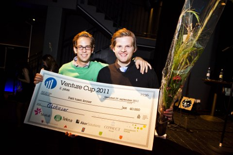 Globesar AS fra Tromsø kom på andreplass i Start Norges forretningsplankonkurranse Venture Cup.