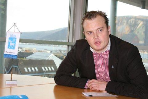 byråd for næring, kultur og idrett i Tromsø, Jonas Eilertsen (V)