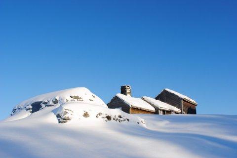 NY RADØY-KALENDER:?Januar månad i den nye Radøy-kalenderen erpryda av dette stemningsfulle vinterbildet frå Bogatunet. Det tilhøyrande Radøy-uttrykket lyd:??Eg vert heilt neføre tå dedne kølen?. Kalenderen er trykt i 800 eksemplar, og det er Radøy Mållag som står for utgjevinga. (Foto_?Elna Bauge)