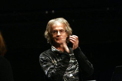 FORNØYD: Henning Sommerro var fornøyd med framføringen - og at tubaisten dukket opp til slutt.