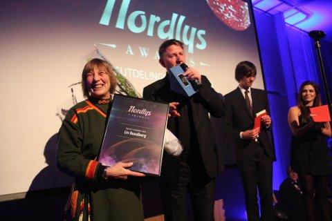 JOIKET: Liv Rundberg joiket da hun vant prisen for Årets ildsjel.