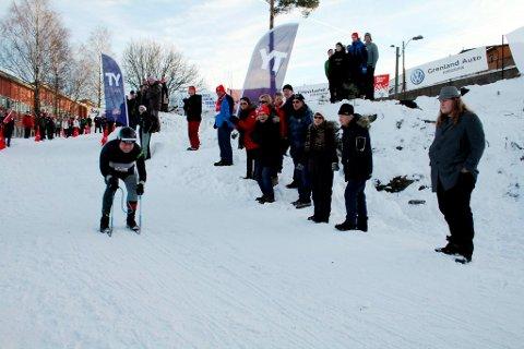 Svein Erik Nilsen, Stathelle er OL-mester i bakkejern med tiden 11.1 sekunder under Vinter-OL i Brevik 2012.