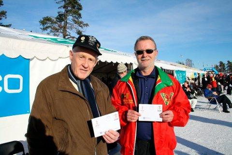 Viggo Skau og Benny Nordstrøm i Stathelle Frimerkeklubb ble utsolgt for OL-frimerker allerede på den første OL-dagen i Brevik. Frimerkene og konvoluttene ble kun solgt under selve OL-arrangementet, og det var et populært tiltak for samlere.