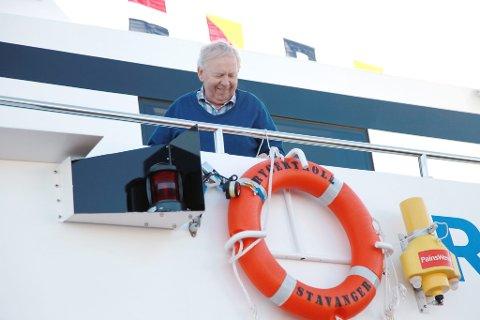Reiar Anders Rødne eig selskapet Rødne Fjord Cruise med bror sin.