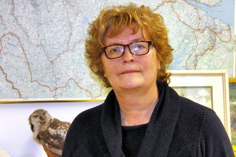 UKJENT: Hvor oppdrettslaksen kommer fra, vet ikke miljøvernsjef Bente Christiansen. Hun har bedt oppdrettsanlegg i nærheten sjekke om de har hatt rømninger.