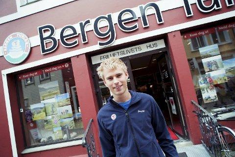 Hans Kristian Flaatten i Den norske turistforenings ungdomsgruppe (DNT Ung) (22.07.2011).