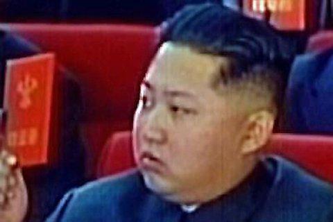 Nord-Koreas leder Kim Jong-un.