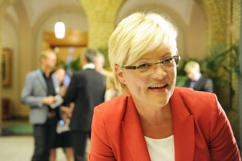 Kristin Halvorsen har fremmet et forslag om ekstra studiepoeng for å ha nynorsk som hovedmål på videregående.