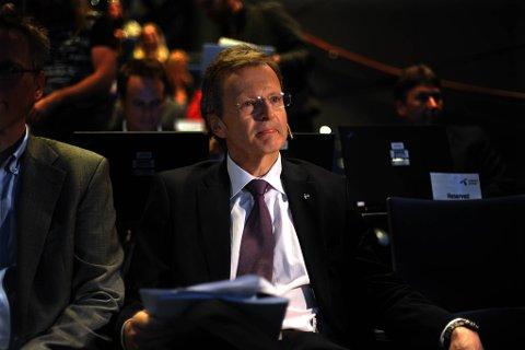 """Telenors toppsjef Jon Fredrik Baksaas mener det er et """"eierspørsmål"""" at Tropnd Giske valgte å sparke Harald Norvik."""