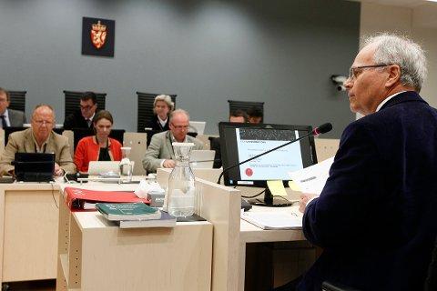 Professor Ulrik Fredrik Malt forklarer seg i rettssaken mot Anders Behring Breivik.