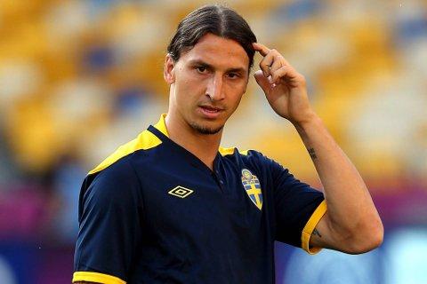Vi tror på Zlatan Ibrahimovic og Sverige mot Ukraina.