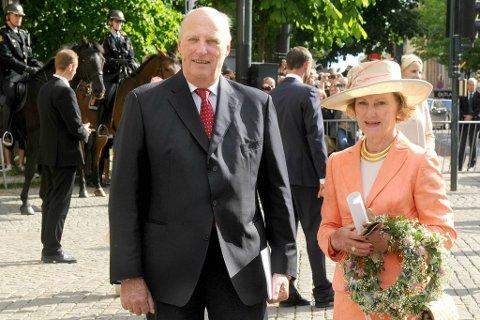Kongeparet skal besøke Vestfold denne uken.