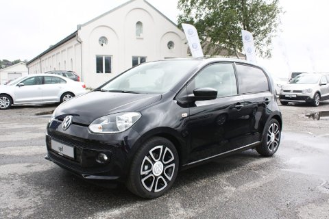 Ny småtass: Up! er en helt ny minibil fra Volkswagen