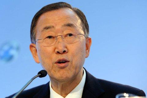 FNs generalsekretær Ban Ki-moon advarer mot å hvile på laurbærene, tross de oppløftende resultatene.