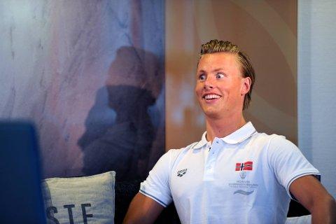 Lavrans Solli gleder seg til sitt første OL.