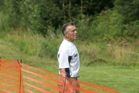 klar: Løpsleder Rolf Hansen er klar for Kongsvinger Maraton for 22. gang.