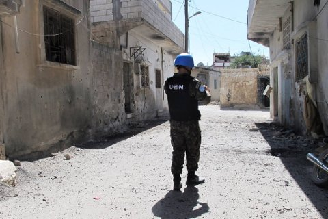 Det ser mørkt ut for et nytt mandat for Syria-observatører.