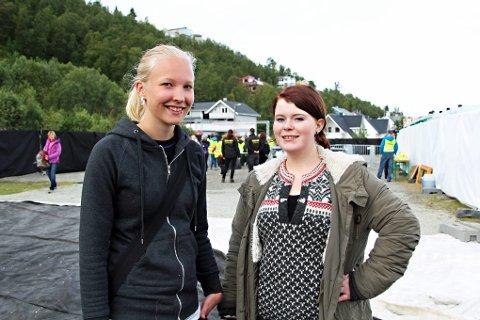 Første på Døgnvill - Trine Lise Jensen og Marie Engh.