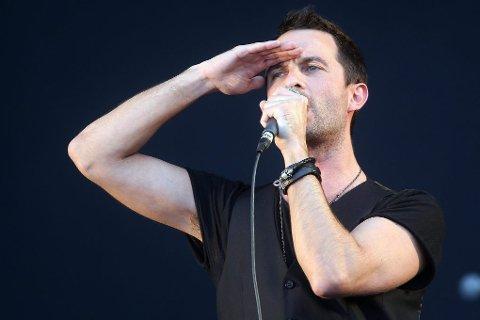 Cazadores-vokalist Mats Devik var storfornøyd med å spille på hjemmebane.