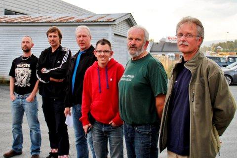 SAMME SYN: Knut Bondal, Hallgeir Jamtveit, Tore Haugan, Arvid Lia og Svein Arvid Tørre er skjønt enige i at det er flere gauper i Telemark enn det jaktkvotene tilkjennegir.